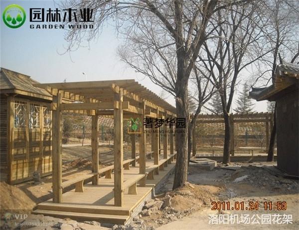 防腐木地板的加工工序和性能