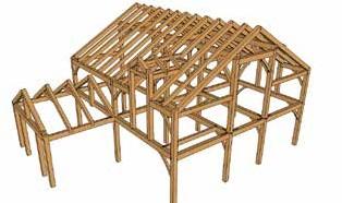 轻型木结构体系和重型木结构体系介绍