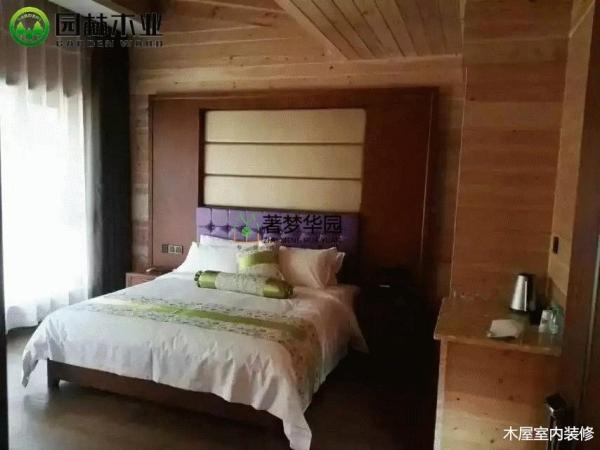 休闲度假区木屋