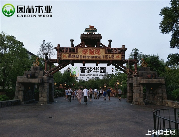 防腐木门楼定制厂家