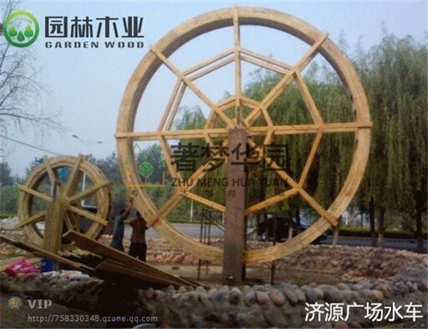 湖北木质水车