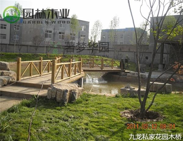 湖北花园木桥